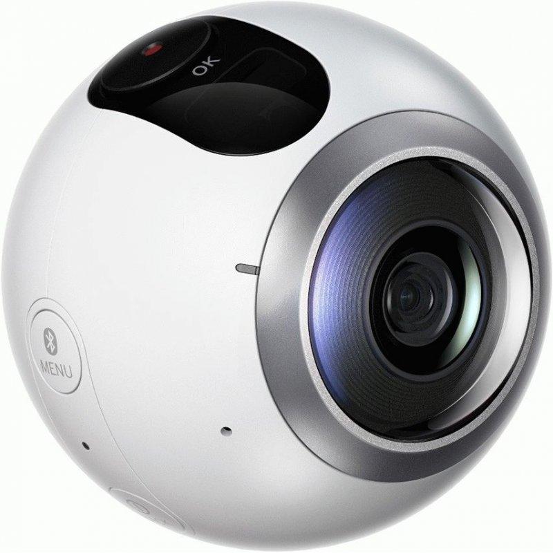 Панорамная камера Samsung Gear 360 (SM-C200NZWASEK)