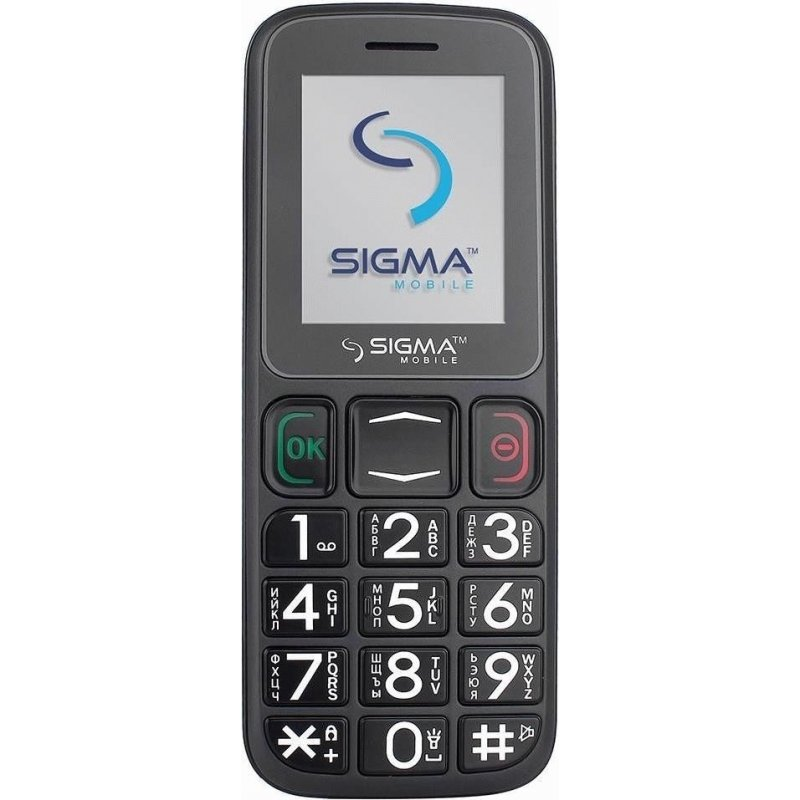 Sigma mobile Comfort 50 Mini3 Grey-Black