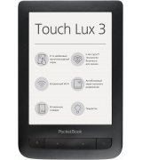 PocketBook 626 Touch Lux 3 Black