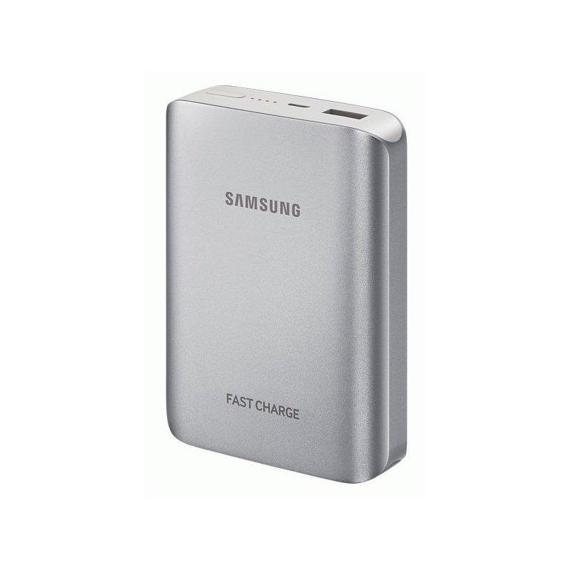 Внешний аккумулятор Samsung Fast Charging 10200 mAh Silver (EB-PG935BSRGRU)
