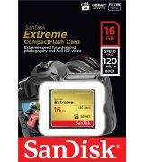 Карта памяти SanDisk CompactFlash Extreme 16GB (SDCFXS-016G-X46)