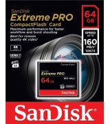 Карта памяти SanDisk CompactFlash Extreme Pro 64GB (SDCFXPS-064G-X46)