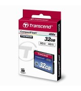 Карта памяти Transcend CompactFlash 32GB 400x (TS32GCF400)