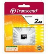 Карта памяти Transcend MicroSD 2GB (TS2GUSDC)