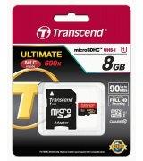 Карта памяти Transcend microSDHC 8GB Class 10 UHS-I Ultimate (TS8GUSDHC10U1)