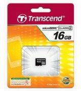 Карта памяти Transcend microSDHC 16GB Class 4 (TS16GUSDC4)