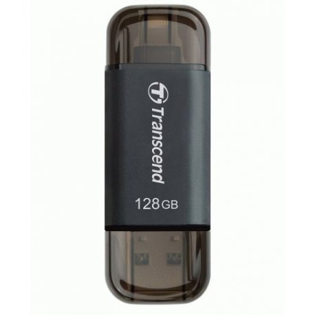 Накопитель Transcend JetDrive Go 300 USB / Lightning 128GB Black (TS128GJDG300K)