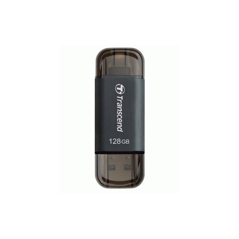 Накопитель Transcend JetDrive Go 300 USB / Lightning 128GB Black (TS128GJDG300K)