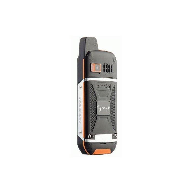 Sigma mobile X-treme 3SIM (CDMA+GSM) Black-Orange