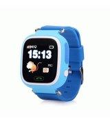 Детские телефон-часы с GPS iQwatch Touch (Blue)
