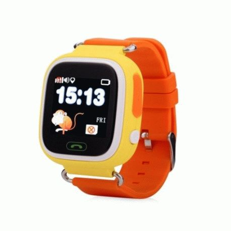 Детские телефон-часы с GPS iQwatch Touch (Yellow)