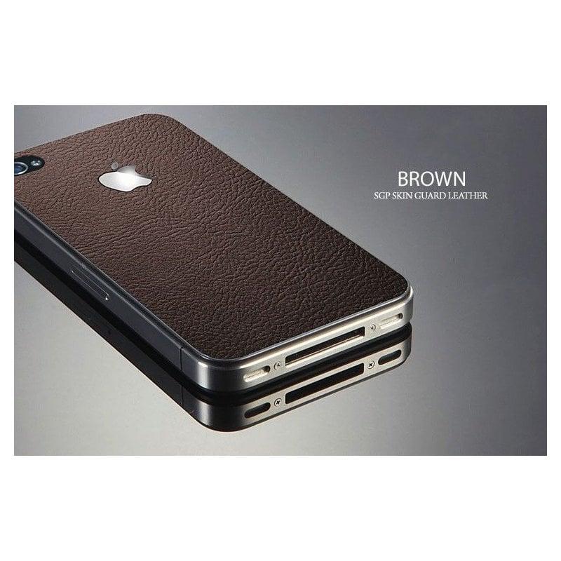 sgp-leather-brown-skin-guard-set-series-dlja-apple-iphone-4