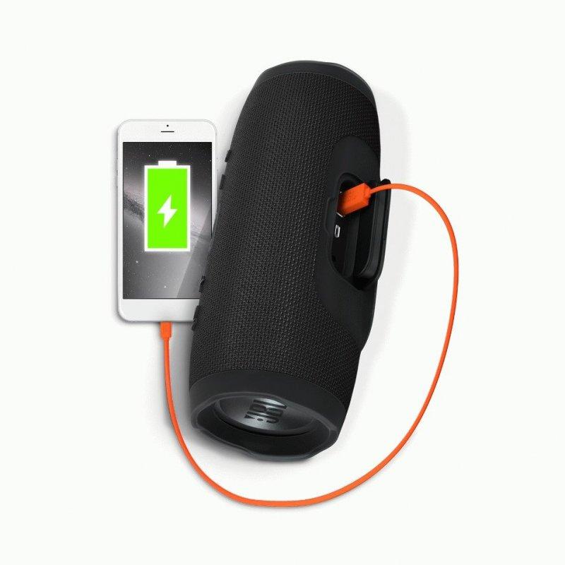 JBL Charge 3 Black (JBLCHARGE3BLKEU)
