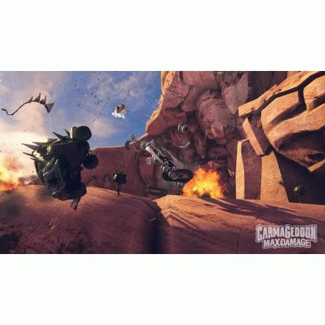 Игра Carmageddon: Max Damage для Sony PS 4 (русские субтитры)
