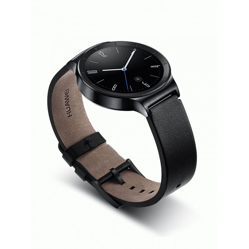 Умные часы Huawei Watch Black Leather