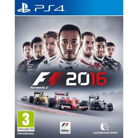 Игра F1 2016 для Sony PS 4 (русские субтитры)