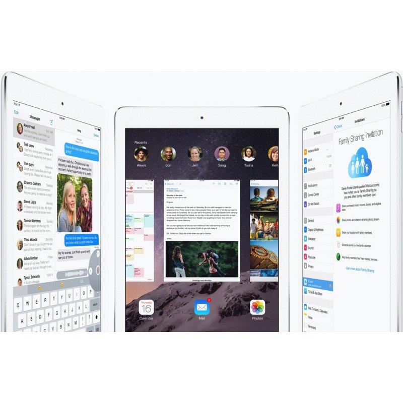 Apple iPad Air 2 32GB Wi-Fi Silver (MNV62TU/A)