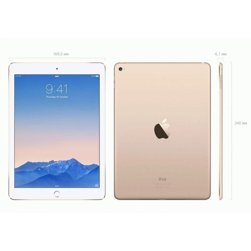 Apple iPad Air 2 64GB Wi-Fi + 4G Silver (MNVQ2TU/A)