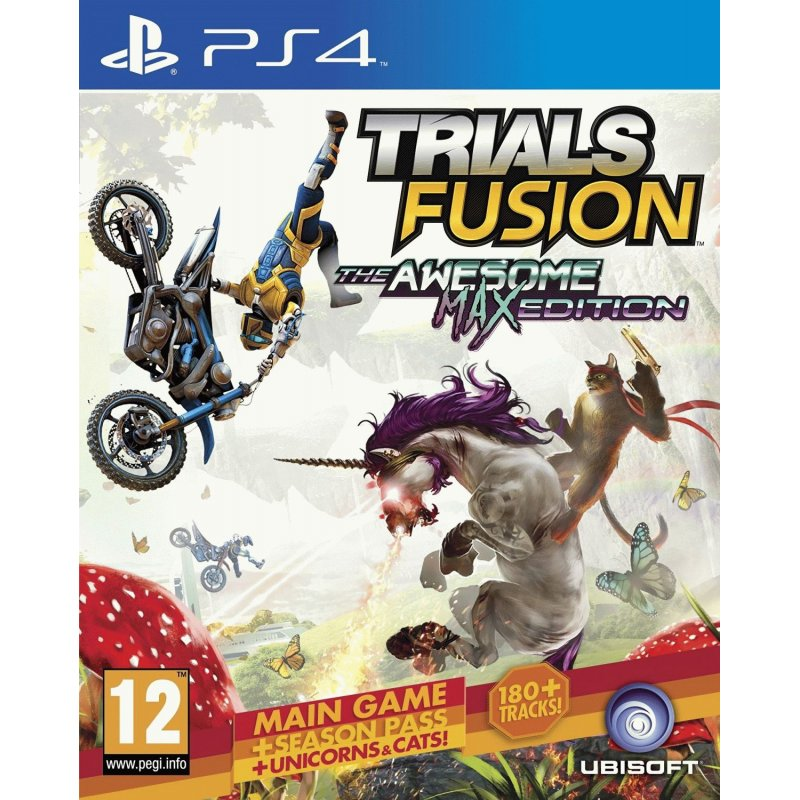 Игра Trials Fusion The Awesome MAX Edition для Sony PS 4 (русские субтитры)
