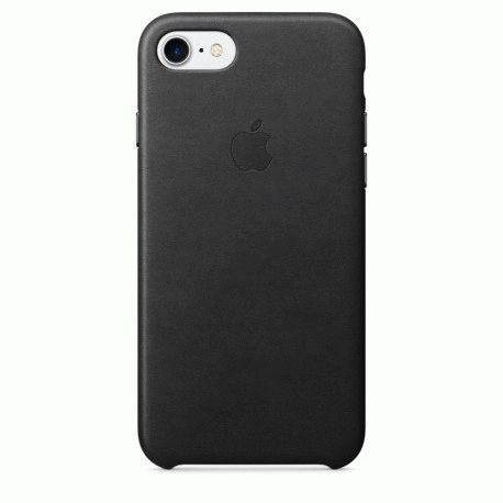 Чехол Apple iPhone 7 Leather Case Black (MMY52ZM/A)
