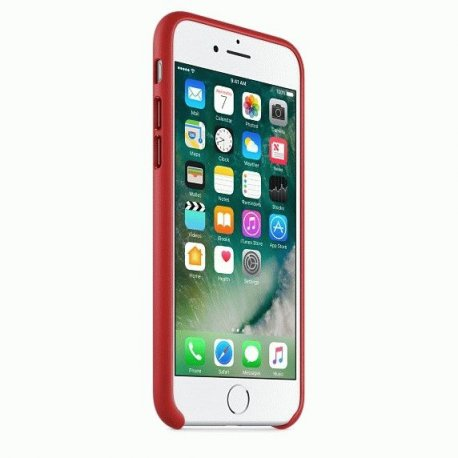 Чехол Apple iPhone 7 Leather Case (PRODUCT)RED (MMY62ZM/A)