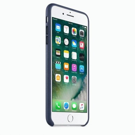 Чехол Apple iPhone 7 Plus Leather Case Midnight Blue (MMYG2ZM/A)