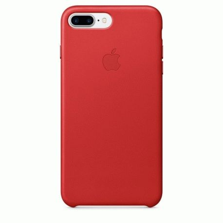 Чехол Apple iPhone 7 Plus Leather Case (PRODUCT)RED (MMYK2ZM/A)