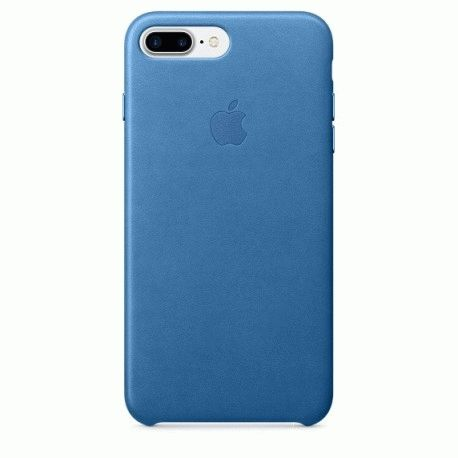 Чехол Apple iPhone 7 Plus Leather Case Sea Blue (MMYH2ZM/A)
