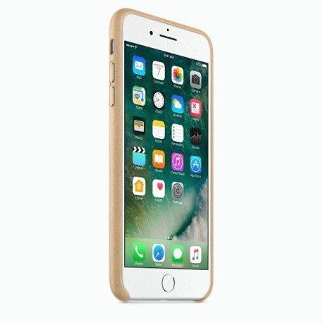 Чехол Apple iPhone 7 Plus Leather Case Tan (MMYL2ZM/A)
