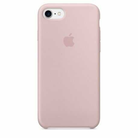 Чехол Apple iPhone 7 Silicone Case Pink Sand (MMX12ZM/A)