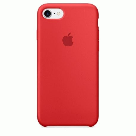 Чехол Apple iPhone 7 Silicone Case (PRODUCT)RED (MMWN2ZM/A)