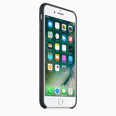 Чехол Apple iPhone 7 Plus Silicone Case Black (MMQR2ZM/A)