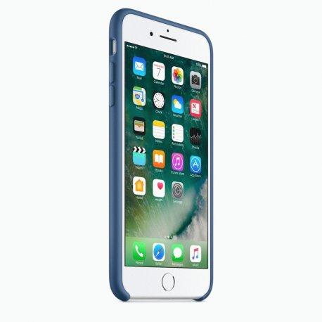 Чехол Apple iPhone 7 Plus Silicone Case Ocean Blue (MMQX2ZM/A)