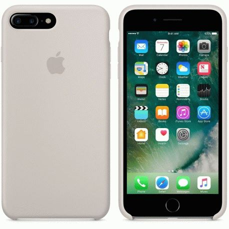 Чехол Apple iPhone 7 Plus Silicone Case Stone (MMQW2ZM/A)