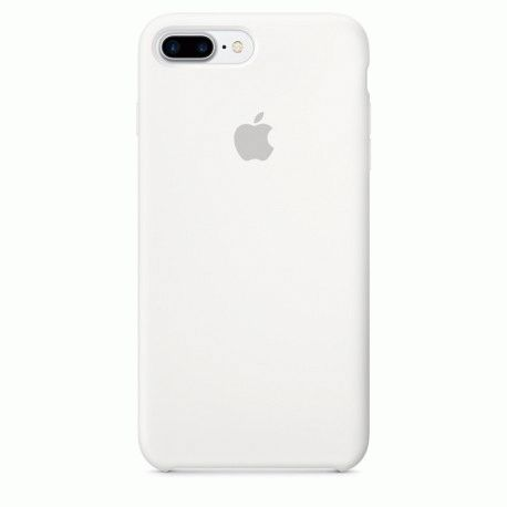 Чехол Apple iPhone 7 Plus Silicone Case White (MMQT2ZM/A)