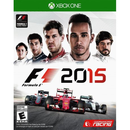 Игра F1 2015 для Microsoft Xbox One (русская версия)