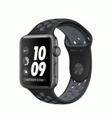Apple Watch Series 2 38mm Space Gray Aluminum Case with Black/Cool Gray Nike Sport Band (MNYX2)