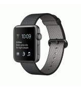 Apple Watch Series 2 38mm Space Gray Aluminum Case with Black Woven Nylon (MP052)