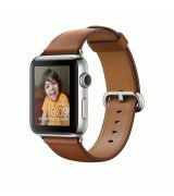 Apple Watch Series 2 38mm Stainless Steel Case with Saddle Brown Classic Buckle (MNP72)