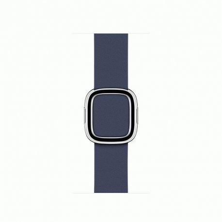 Apple Watch Series 2 38mm Stainless Steel Case with Midnight Blue Modern Buckle (MNP82)