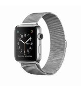 Apple Watch Series 2 42mm Stainless Steel Case with Milanese Loop (MNPU2)
