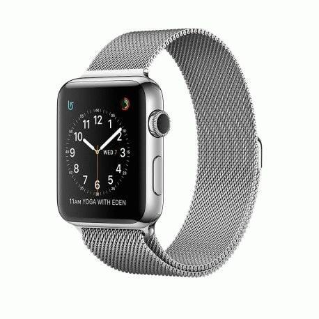 Apple Watch Series 2 42mm Stainless Steel Case with Milanese Loop (MNPU2)