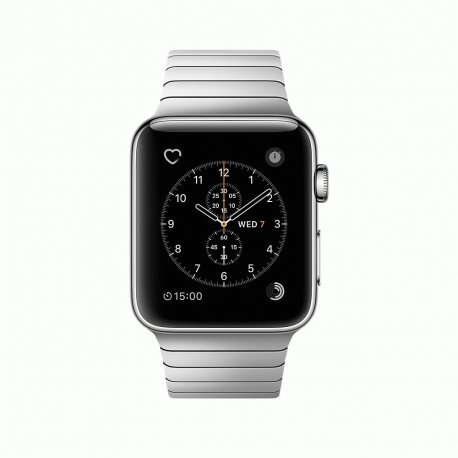 Apple Watch Series 2 42mm Stainless Steel Case with Link Bracelet (MNPT2)