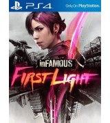 Игра Infamous: Первый свет для Sony PS 4 (русская версия)