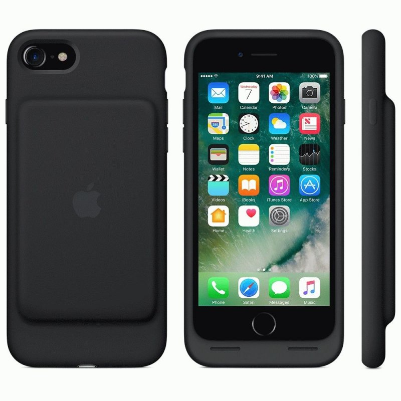 Чехол Apple iPhone 7 Smart Battery Case Black (MN002ZM/A)