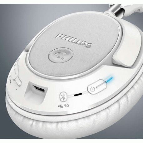 Philips SHB7250WT/00 Wireless White