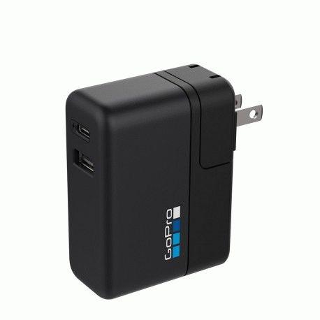 Зарядное устройство GoPro Supercharger (International Dual-Port Charger) (AWALC-002)