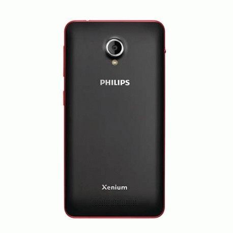 Philips Xenium V377 Black-Red