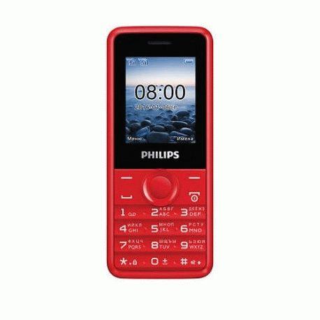 Philips Xenium E103 Dual Sim Red