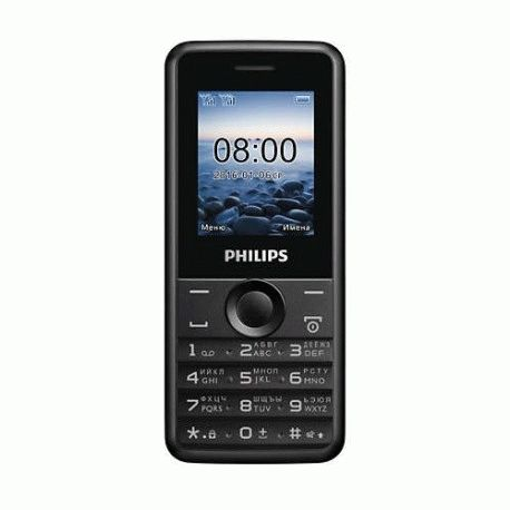 Philips Xenium E103 Dual Sim Black